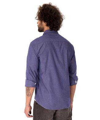 Camisa Gravataria - Azul Jeans