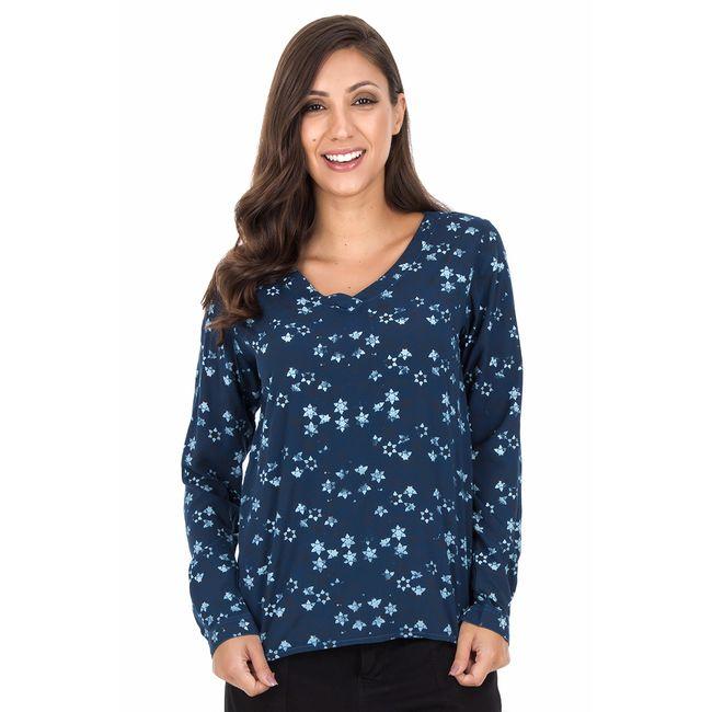 Camisa-Stars---Azul-Marinho