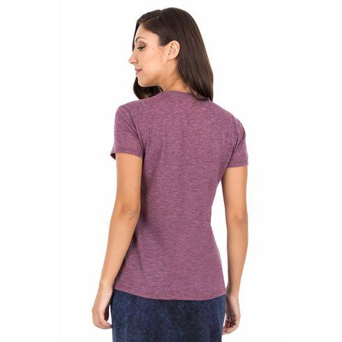 Camiseta-Bolso-Flores---Vinho