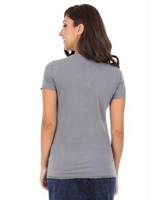 Camiseta-Flocos-De-Neve---Cinza-Claro