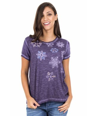 Camiseta-Flocos-Bordado---Roxo