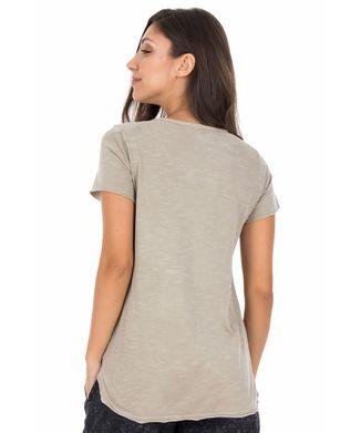 Camiseta-Flor---Kaki