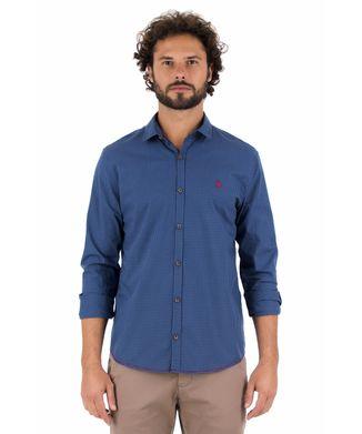 Camisa-Vichy---Azul-Royal