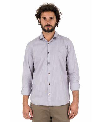 Camisa-Button-Listra---Cinza-Claro