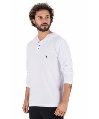 7c21f41b3f Camiseta-Manga-Longa-Capuz---Branco