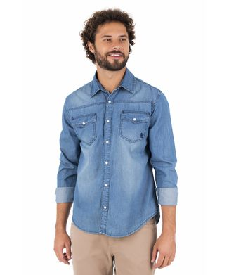 Camisa-Jeans-Bolso---Azul-Jeans