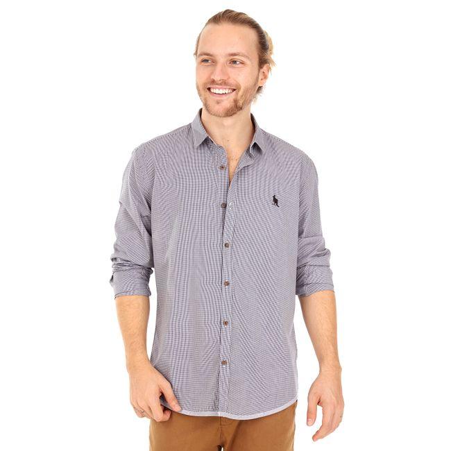 Camisa-Barra-Xadrez---Preto