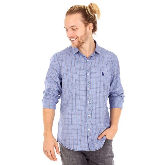 Camisa-Xadrez-Listras---Azul