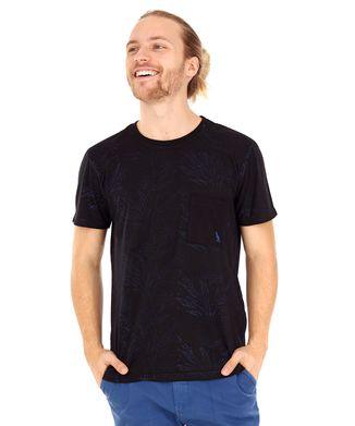 Camiseta-Folhagem---Preto