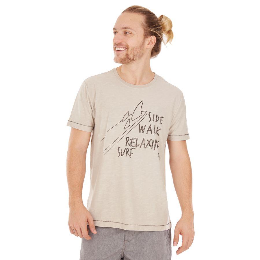 5405a97cc4 Camiseta Relaxing Surf - Areia - sidewalk