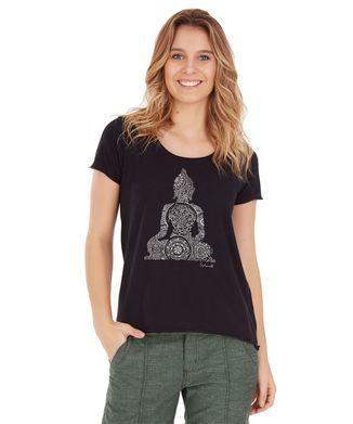 Camiseta-Buda---Preto
