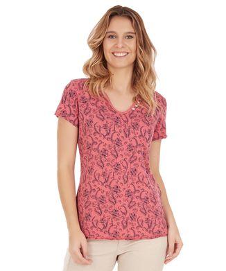 Camiseta-Arabesco---Rosa