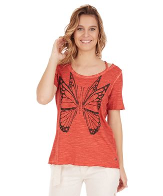 Camiseta-Butterfly---Rosa-
