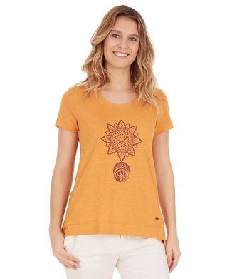 Camiseta-Chakra---Ocre