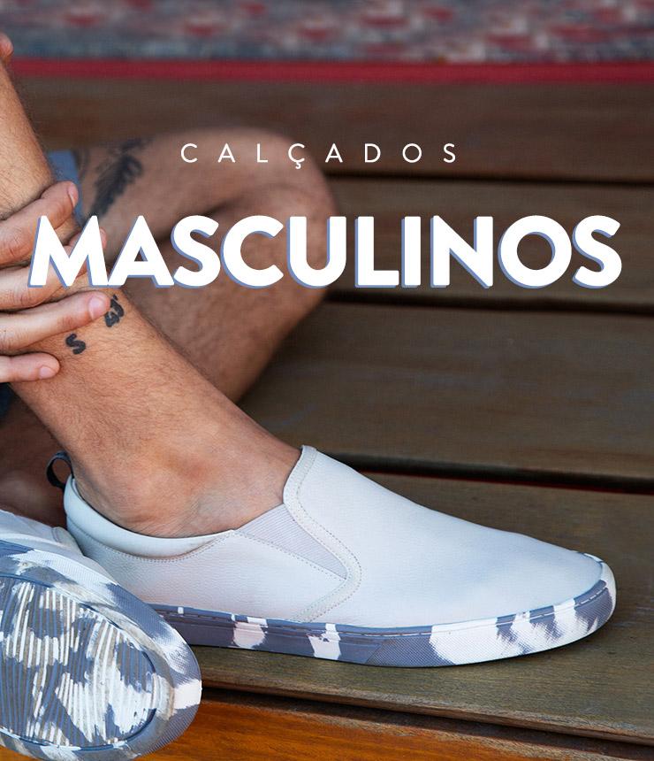 calçados masculinos