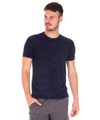 Camiseta-Marmorizada---Azul-Indigo