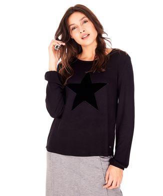 Camiseta-Estrela---Preto