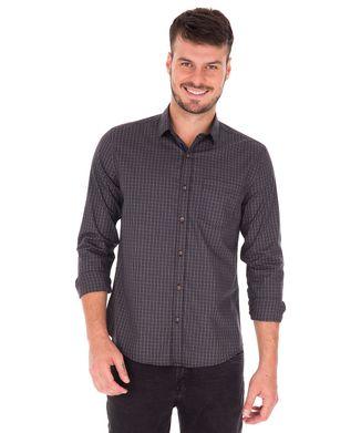 Camisa-Mini-Xadrez---Preto