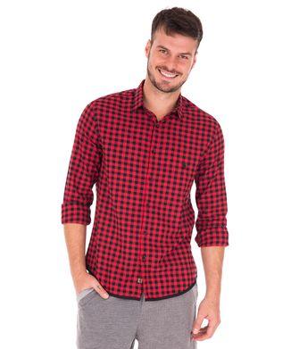 Camisa-Vichy---Vermelho