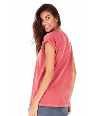 Camiseta-Felicidade---Rosa
