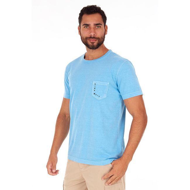 Camiseta-Aurea---Azul-Celeste---Tamanho-P