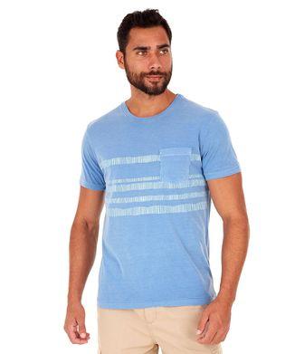Camiseta-Grafismos---Azul-Claro---Tamanho-P