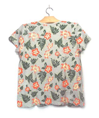Camiseta-Floral---Areia---Tamanho-P