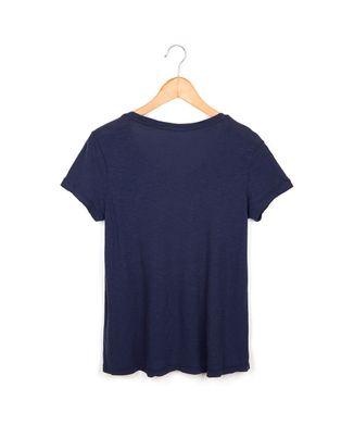 Camiseta-Floresta---Azul-Marinho---Tamanho-P