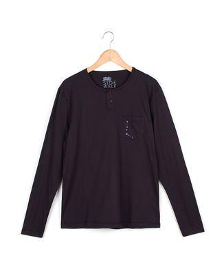 Camiseta-Manga-Longa-Sw---Preto---Tamanho-M