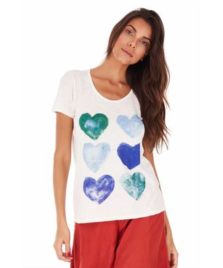Camiseta-Coracoes---Off-White---Tamanho-P