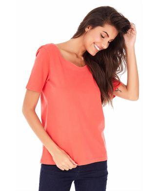 Camiseta-Tranca---Coral---Tamanho-P
