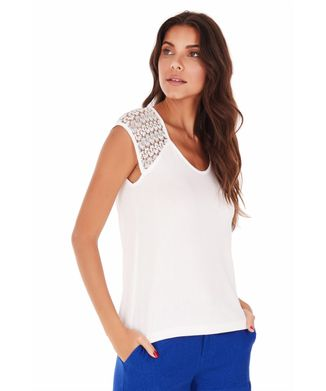 Camiseta-Mangas-Renda---Off-White---Tamanho-P