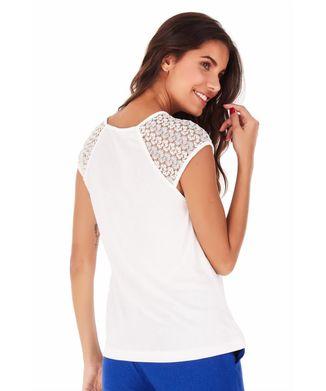 Camiseta-Mangas-Renda---Off-White---Tamanho-M