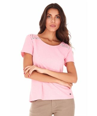 Camiseta-Botoes-Costas---Rosa-Claro---Tamanho-M
