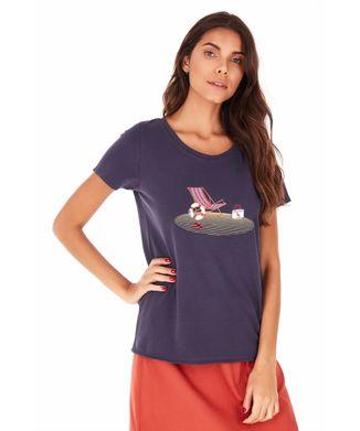 Camiseta-Cadeira-De-Praia---Azul-Marinho---Tamanho-M