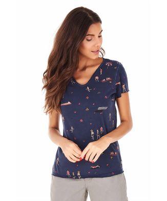 Camiseta-Banhistas---Azul-Marinho---Tamanho-M