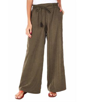 Calca-Pantalona---Verde-Militar---Tamanho-P