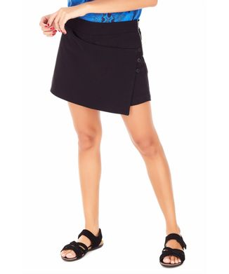 Shorts-Saia-Botoes---Preto---Tamanho-36