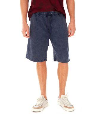 Bermuda-Moletom---Azul-Jeans---Tamanho-P