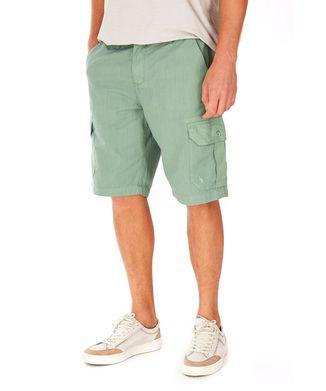 Bermuda-Cargo-Texturizada---Verde-Pistache---Tamanho-40