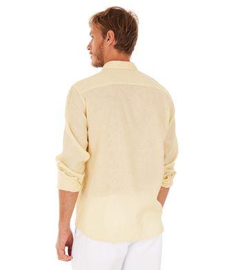 Camisa-Linho---Amarelo---Tamanho-G