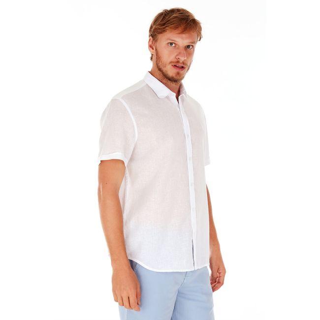 Camisa-Linho---Branco---Tamanho-P