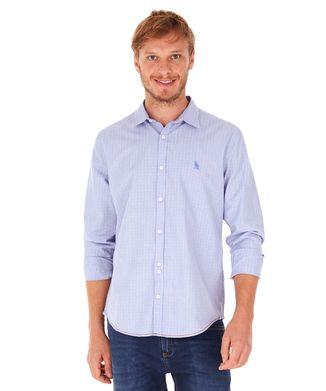 Camisa-Xadrez---Azul-Claro---Tamanho-P