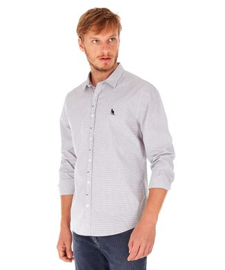 Camisa-Vichy---Preto---Tamanho-P