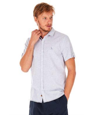 Camisa-Manga-Curta-Listras---Azul-Claro---Tamanho-P