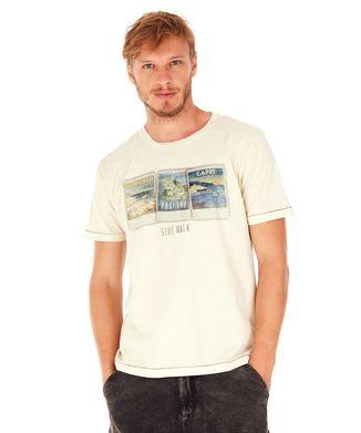 Camiseta-Polaroid---Off-White---Tamanho-G
