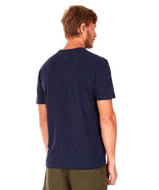 Camiseta-Folhagens---Azul-Marinho---Tamanho-P