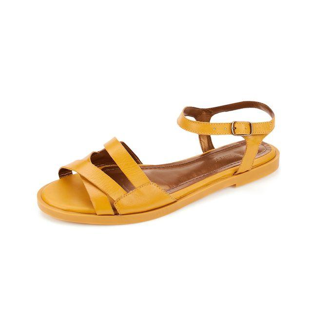 Sandalia-Rasteirinha-Canguru---Mostarda---Tamanho-34