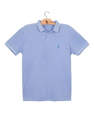 Polo-Piquet-Vintage---Azul-Claro---Tamanho-M