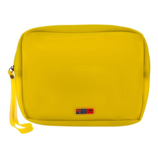 Necessaire-Silicone-Amarela